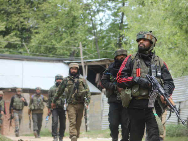 Terrorists Lob Grenade At An Army Patrolling Party Shopian Jammu Kashmir