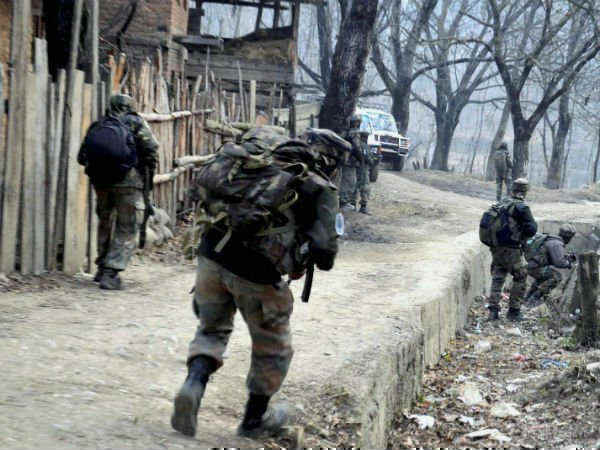 J K Encounter Underway Between Security Forces Terrorists Anantnag