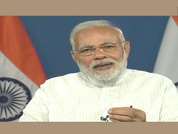 Pm Modi Interacts With Beneficiaries Of Pradhan Mantri Awas Yojna