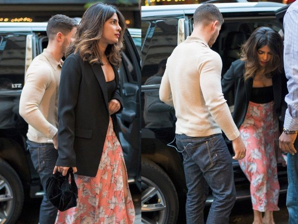 Priyanka Chopra Arrives Mumbai With Boyfriend Nick Jonas Bu