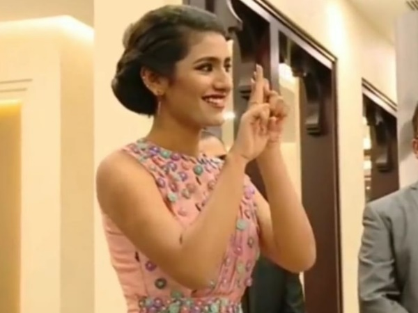 New Video Priya Prakash Varrier With Roshan Abdul Raoof Is G