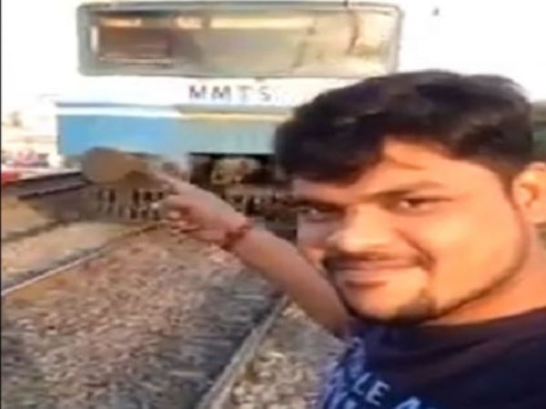 Southern Railway Fine Passengers Rs 2 000 For Taking Selfies In Front Of Trains