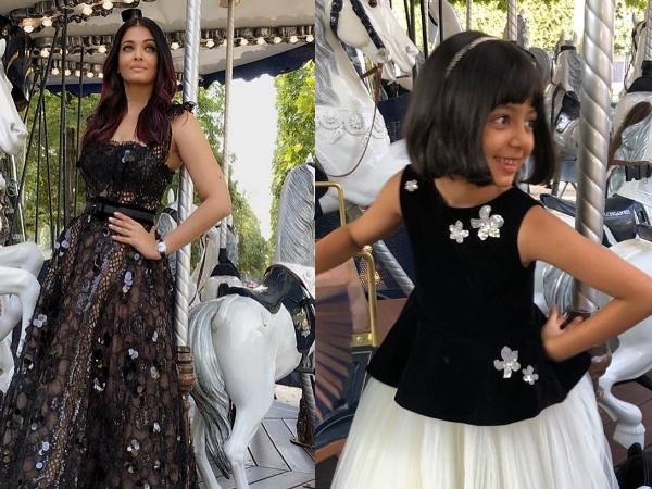 Aaradhya Bachchan Copying Mother Aishwarya Rai Bachchan Is T