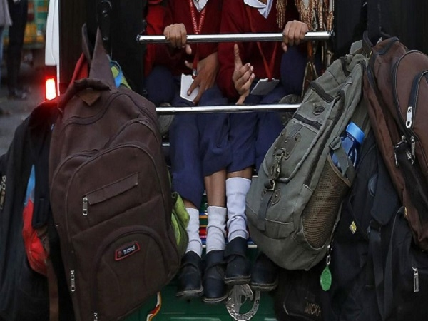 Delhi Rabea Girls School Locks Kids Basement Delay Payment Fees