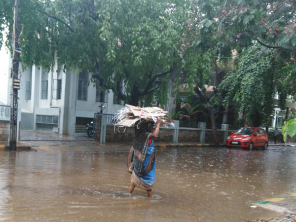 Heavy Rain Lashed Several Parts Kerala On Monday Tuesday Ki