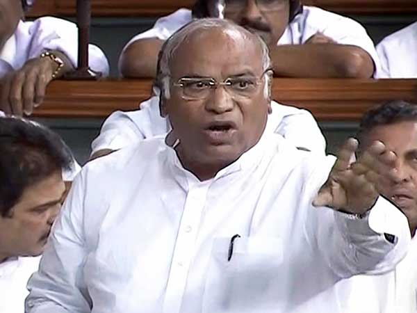 Monsoon Session Congress Leader Mallikarjun Kharge Accuses