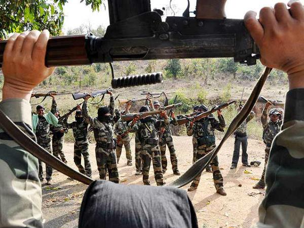 Dead Bodies Of Naxals Recovered In Chattisgarh Dantewada Encounter Underway