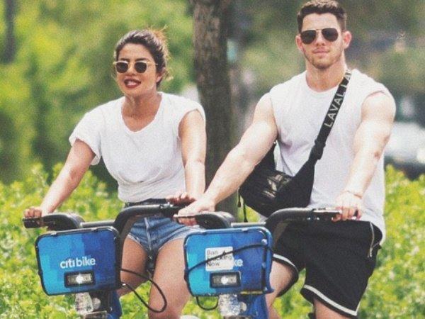 Priyanka Chopra Goes Cycling With Boyfriend Nick Jonas His F