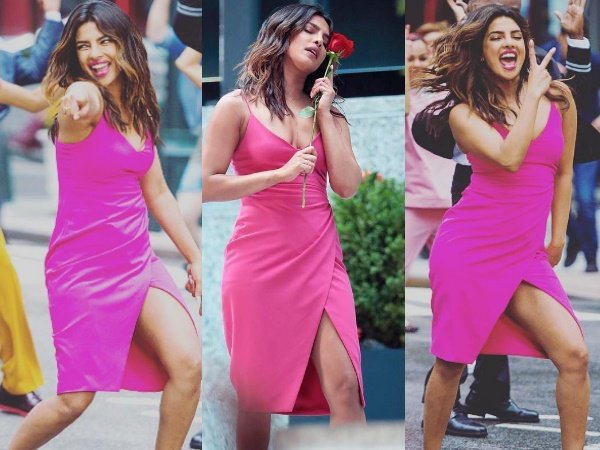 Priyanka Chopra Dances On The Streets New York With Isn T I