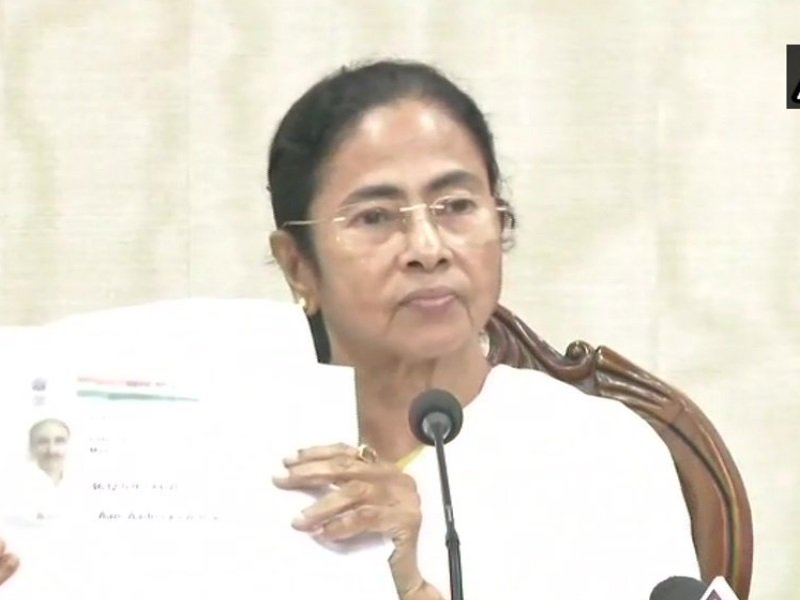 Mamata Banerjee On Nrc Assam Says Names People Were Removed