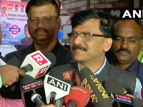 Sanjay Raut Shiv Sena No Confidence Motion Congress Rahul G