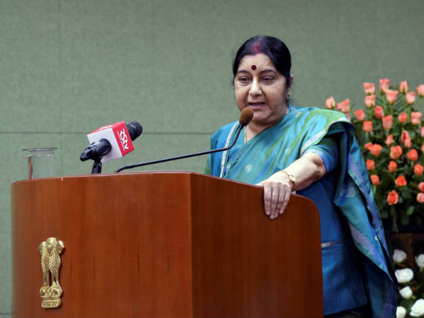 External Affairs Minister Sushma Swaraj Conducted Poll On Tw
