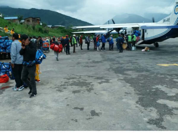 Pilgrims From Karnataka Stranded Nepal Because Heavy Rai