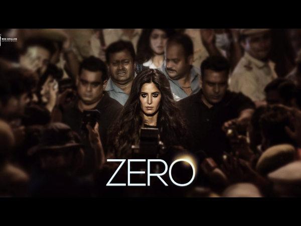 Shahrukh Khan Shares Katrina Kaif First Look From Zero
