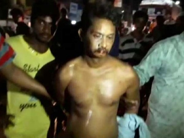 Andhra Pradesh Teacher Beaten Up Stripped Paraded Naked After Allegedly Raping Students