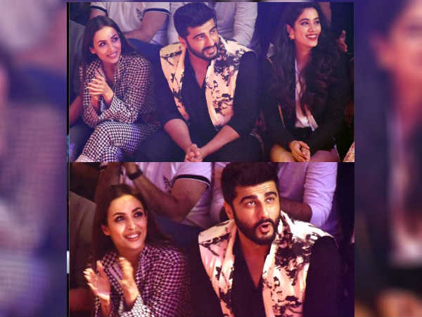 Malaika Arora Arjun Kapoor Create Ripples While Sitting Toge