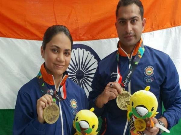 Asian Games 2018 Apurvi Chandela Ravi Win Bronze Medal