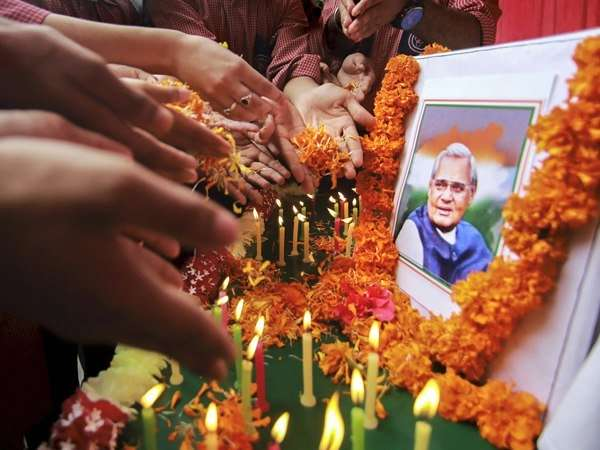 Photos Tribute Former Prime Minister India Atal Bihari Vajp