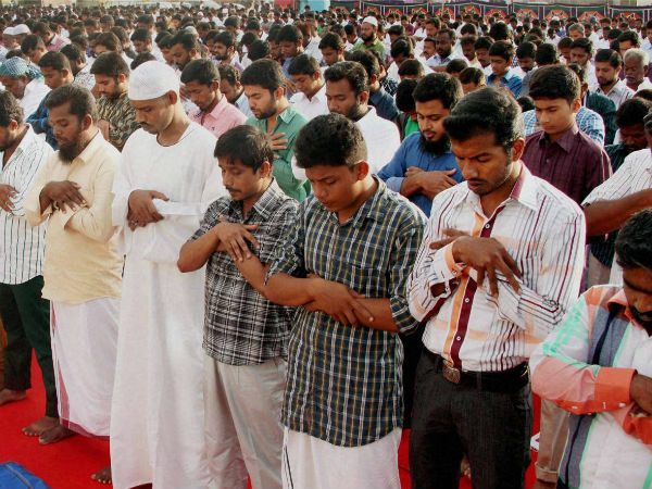 Muslims Celebrated Bakrid Today With Prayers Acts Charity P
