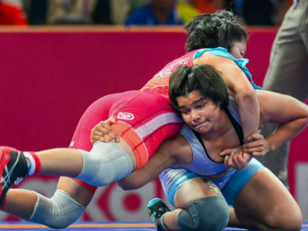 India S Divya Kakran Wins Bronze In 68kg Wrestling