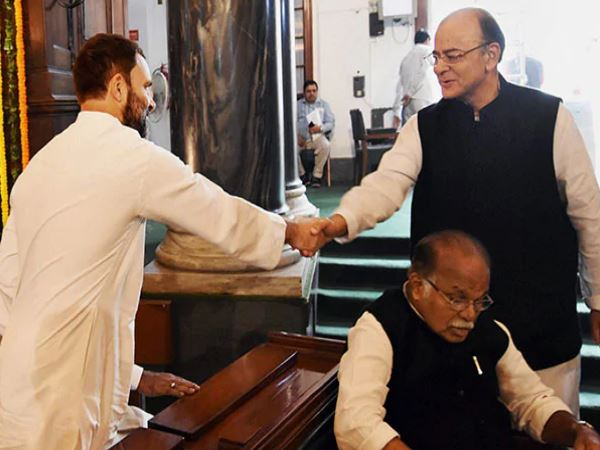 Rahul Gandhi Reminds Arun Jaitley About The Rafale Jpc Deadl