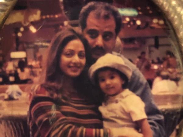 On Sridevi S 55th Birthday Janhvi Kapoor Shares Childhood P