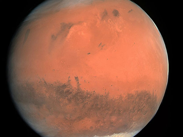 Aggressive Planet Mars Is Ruled Fire