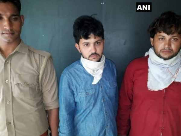 Police Arrested Two Pakistani Nationals Who Were Residing In Meerut