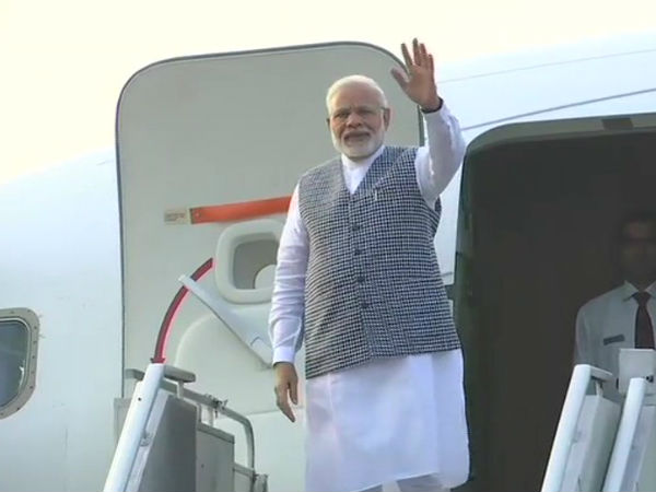 Prime Minister Narendra Modi Leaves A Two Day Visit Nepal H