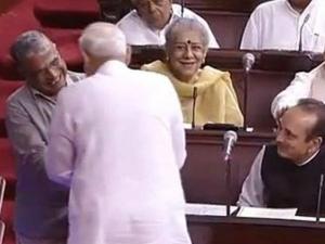 Pm Narendra Modi Jaitley Congratulate Harivansh Singh On Bei
