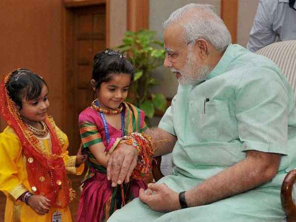Pm Modi S Greetings On Raksha Bandhan