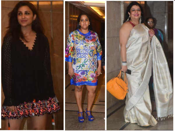Priyanka Chopra Nick Jonas Engagement Bash Arpita Khan Sharma Parineeti Chopra Early Guests