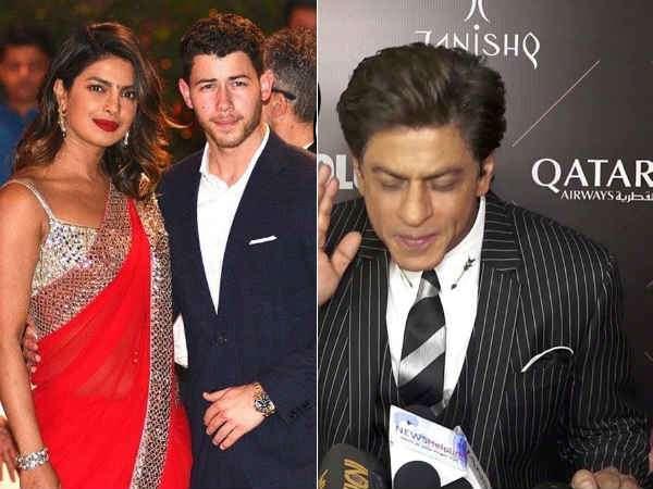 Shahrukh Khan Has An Epic Response Priyanka Chopra S Wedding