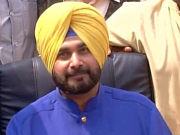 Indian Politician Former Cricketer Navjot Singh Sidhu On Wed