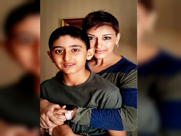 Sonali Bendre Wrote Post At Social Media Her Son Ranveer 13t