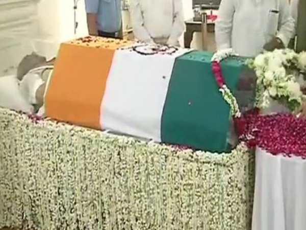 Bharat Ratna Atal Bihari Vajpayee S State Funeral At Smriti