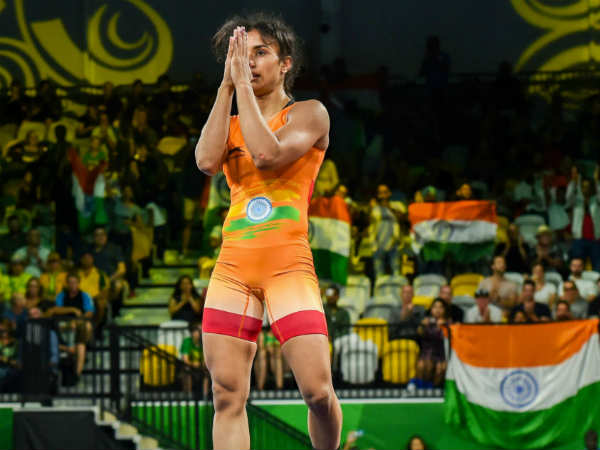 Wrestler Vinesh Phogat Wins India S Second Gold Asian Games