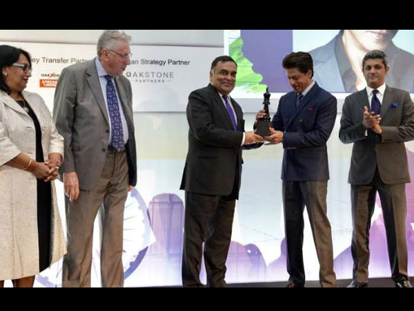 King Khan Become Game Changer Indian Cinema He Felicitated
