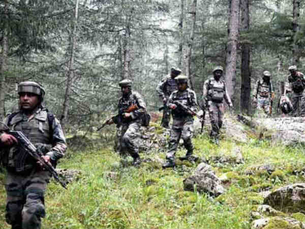 Encounter Breaks Between Terrorists Security Forces Baramull