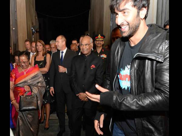 President India Ramnath Kovind Met Ranbir Kapoor Alia Bhatt