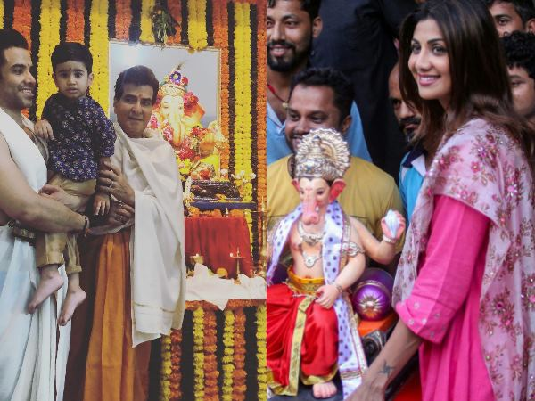 Ganesh Chaturthi 2018 Bollywood Celebrities Celebrates Gane