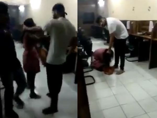 Delhi Police Sub Inspector S Son Beats Girl Mercilessly Video Doing Rounds On Social Media