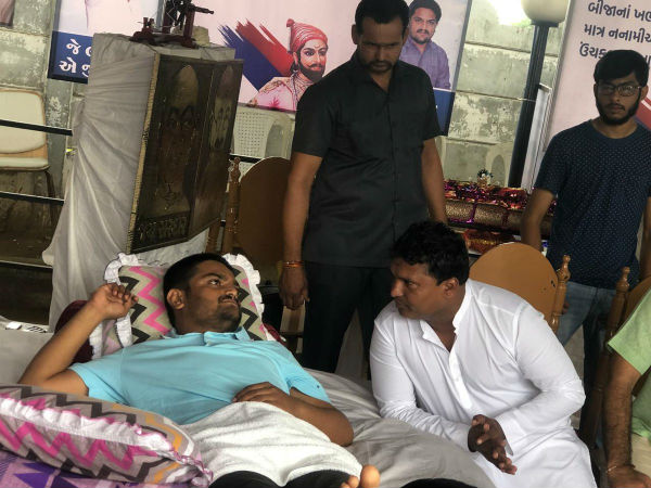 Hardik Patel Admitted Sola Civil Hospital