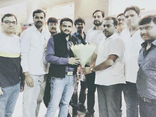 After Getting Treatment At Jindal Naturecure Hardik Patel Returened Home