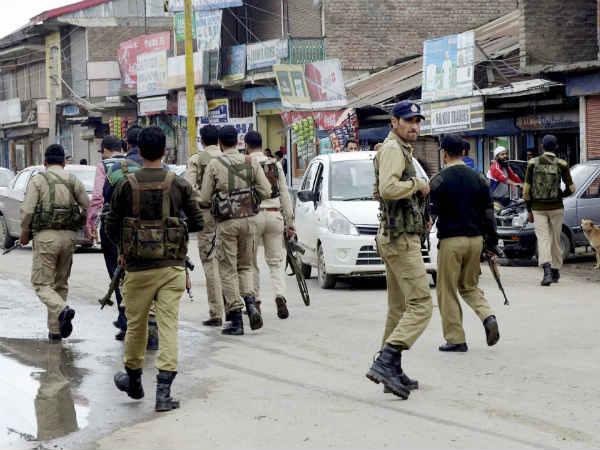 Terrorists Hurl Grenade Crpf Troops Sopore Baramulla Jammu Kashmir