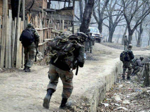 Jammu Kashmir Terrorists Fired Grenade Towards Crpf Camp