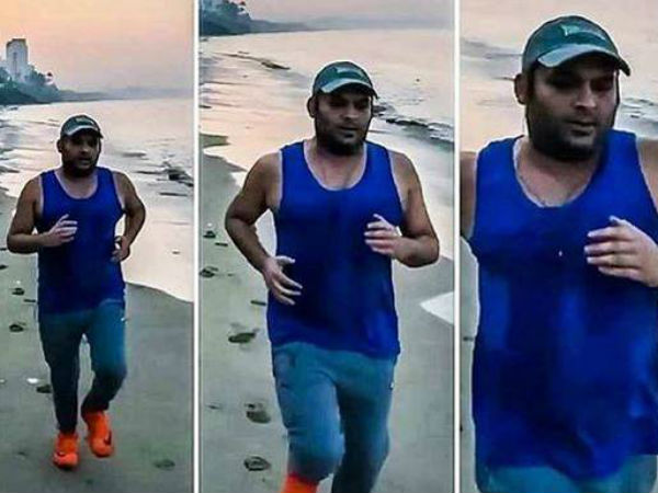 Kapil Sharma Shares Video From Bangalore Is Twinkle Khanna Behind His Detox Drive