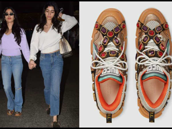 Janhvi Kapoor Steps In Rs 1 2 Lakh Shoes Gets Trolled Ugly C