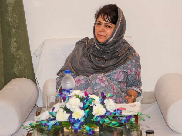 Pdp Boycott Panchayat Polls Over 35a Says Mehbooba Mufti