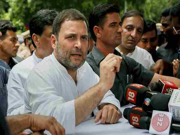 Rahul Gandhi Meeting With Telangana Congress Leaders Over Alliance With Tdp